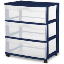 sterilite-3-drawer-cart-navy